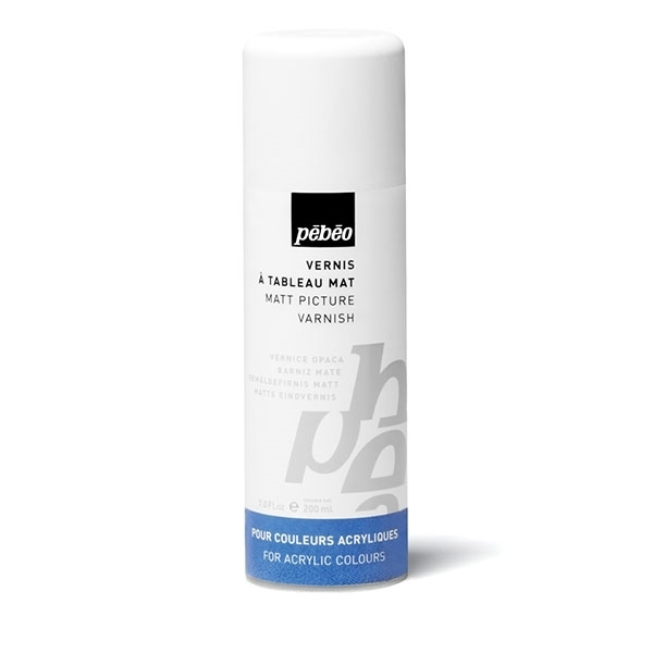 Picture of Pebeo Acrylic Matt Picture Varnish Spray 200ml