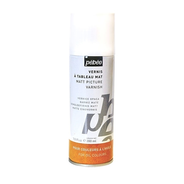 Picture of PEBEO Matt Picture Varnish Spray - 200ml (For Oil Colour)