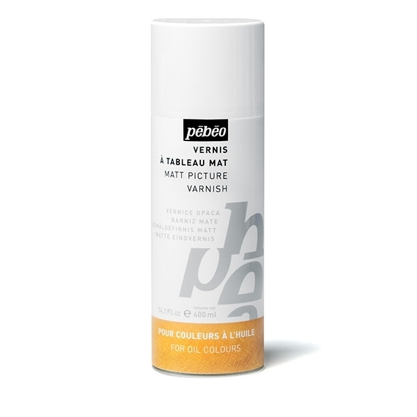 Picture of PEBEO Matt Picture Varnish Spray - 400ml (For Oil Colour)