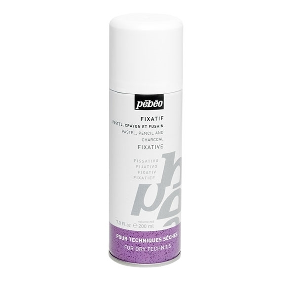 Picture of Pebeo Pastel & Charcoal Fixative spray 200ml