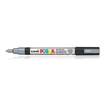 Picture of Uni Posca Marker Silver PC – 3M