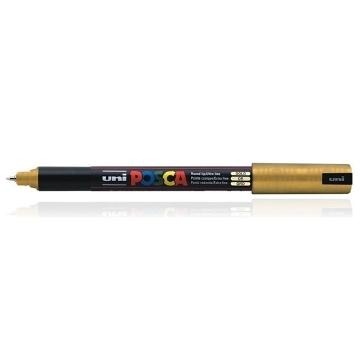 Picture of Uni Posca Marker Gold PC – 1MR