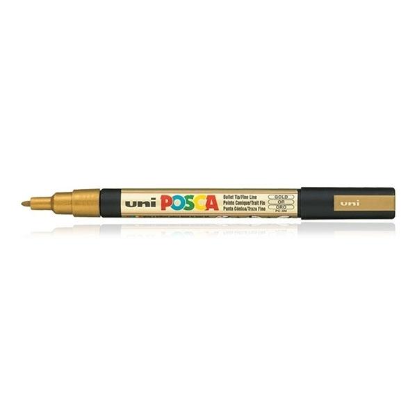 Picture of Uni Posca Marker Gold PC – 3M