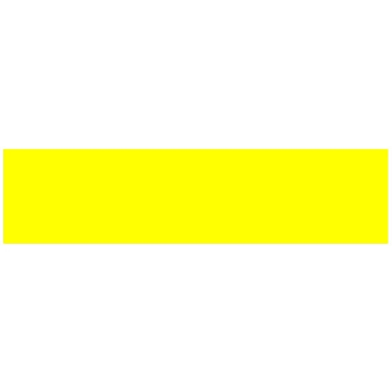 Picture of FLAME Acrylic Spray Paint 400ml Fluo Yellow FB1000