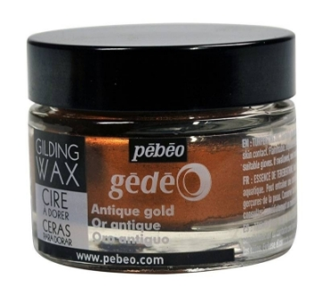 Picture of Pebeo Gilding Wax 30ml (Antique Gold)