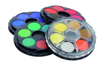 Picture of Kohinoor Round Watercolour Cake Set of 24