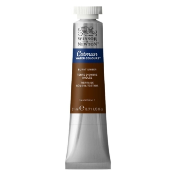 Picture of Winsor & Newton Cotman Watercolour 21ML BURNT UMBER
