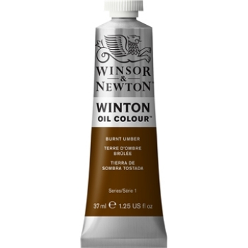 Picture of WN Winton Oil Colour 37Ml Burnt Umber