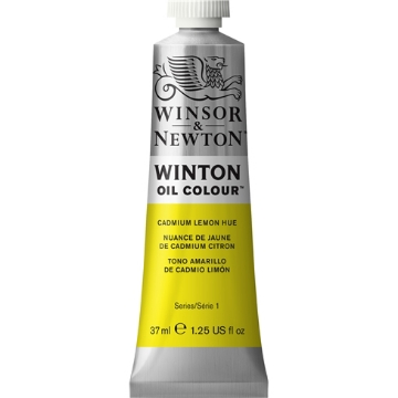 Picture of WN Winton Oil Colour 37Ml Cadmium Lemon Hue