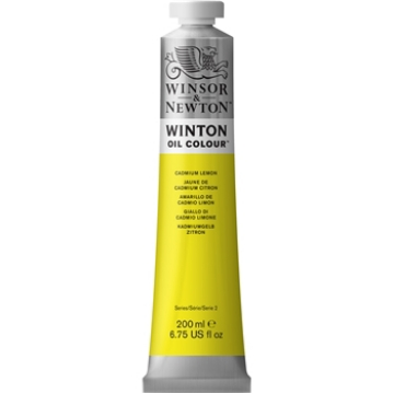 Picture of Winsor & Newton Winton Oil Colour 200Ml Cadmium Lemon Hue