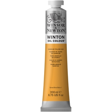Picture of Winsor & Newton Winton Oil Colour 200Ml Cadmium Yellow Hue