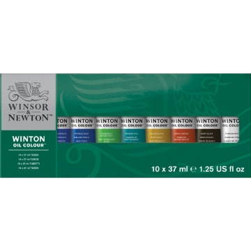 Picture of Winsor & Newton Winton Oil Colour Tube Set 10x37ml