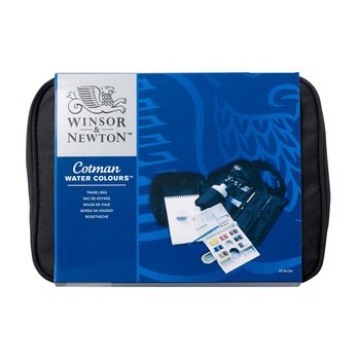 Picture of Winsor & Newton Cotman Watercolour TRAVEL BAG set