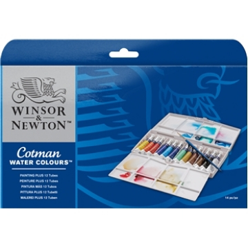 Picture of Winsor & Newton NEW Cotman Watercolour painting plus set