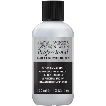 Picture of Winsor & newton Artist Acrylic Gloss Varnish 125ml