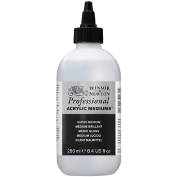Picture of Winsor & newton Artist Acrylic  Gloss Medium 250ml