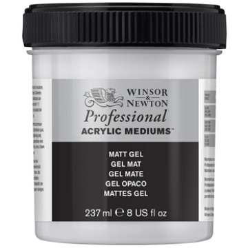Picture of Winsor & newton Artist  Acrylic  Matt Gel 237ml