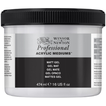 Picture of Winsor & newton Artist  Acrylic  Matt Gel 474ml