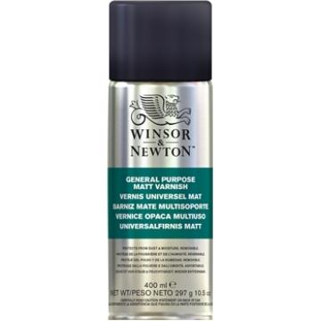 Picture of Winsor & Newton All Purpose Matte Varnish Spray 400ml