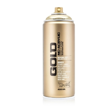 Picture of Montana  Gold Spray Paint 400ml Goldchrome - M3000