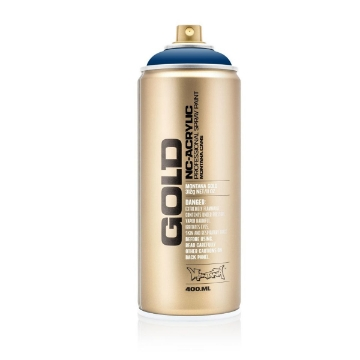 Picture of Montana  Gold Spray Paint 400ml Transparent Ultramarine - T5080