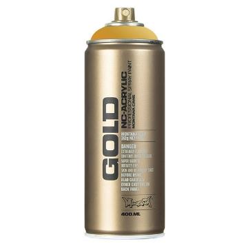 Picture of Montana  Gold Spray Paint 400ml Gold Matt - M3010