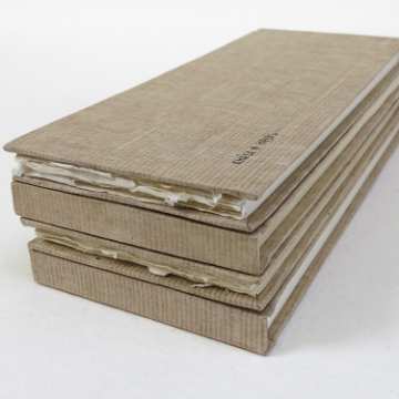 Picture of Khadi Paper Hardbound Sketchbook Long Smooth HB5LWS