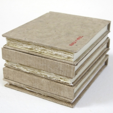 Picture of Khadi Paper Hardbound Sketchbook Rough HB5WR