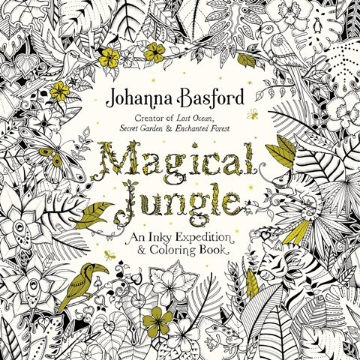 Picture of Magical Jungle by Johanna Basford (An Adult Colouring Book)
