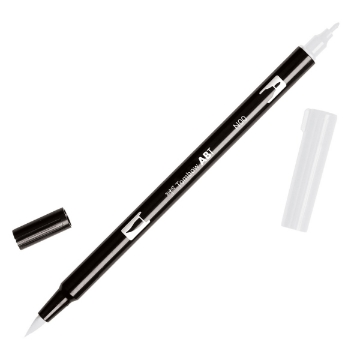 Picture of Tombow Dual Brush Pen Colorless Blender N00