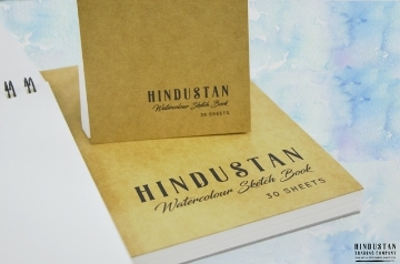 Picture of Hindustan Watercolour Sketch Book (Medium Texture) 240gsm A5 - 25 Sheets