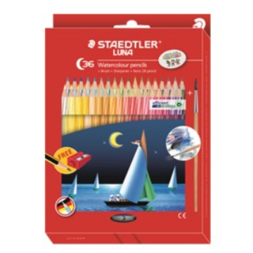 Picture of STAEDTLER Luna Watercolour Pencils Pack of 36 (For Students)