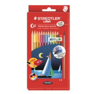 Picture of STAEDTLER Luna Watercolour Pencils Pack of 12 (for Students)