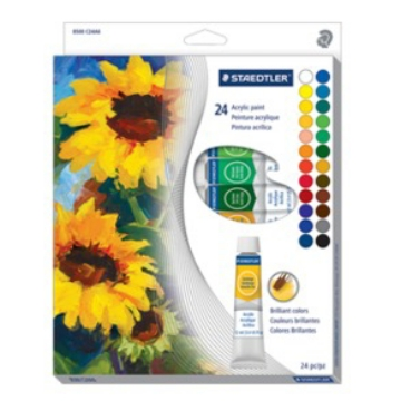 Picture of Staedtler Karat Acrylic Set of 24x12ml