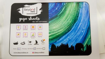 Picture of Beyond Yupo Sheets A5 300 Micron (Pack of 10)