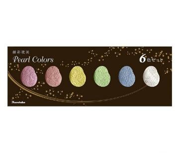 Picture of Kuretake Gansai Tambi Pearl Colors Set of 6