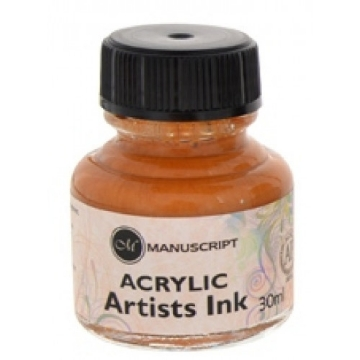 Picture of Manuscript Calligraphy Acrylic Ink Gold 30ml