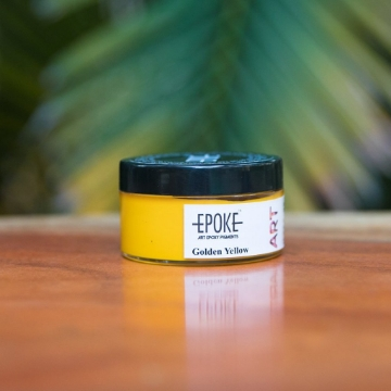 Picture of EPOKE Resin Pigment Golden Yellow 75g
