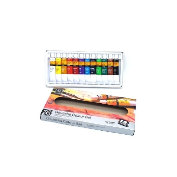 Picture of Fine Art Gouache colour set 12x12ml