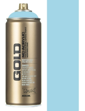 Picture of Montana  Gold Spray Paint 400ml Fresh Blue - 5010