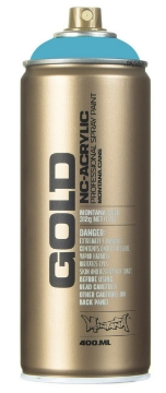 Picture of Montana  Gold Spray Paint 400ml Dolphins - 6250