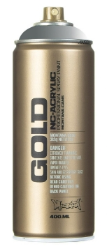 Picture of Montana  Gold Spray Paint 400ml Transparent Gravel - T7060