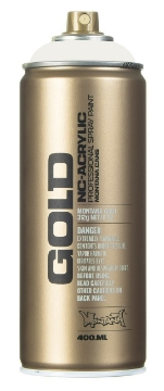 Picture of Montana  Gold Spray Paint 400ml Pebble - 7000