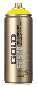 Picture of Montana  Gold Spray Paint 400ml Brimstone - 1110