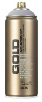 Picture of Montana  Gold Spray Paint 400ml Silver Matt - M1100