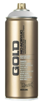 Picture of Montana  Gold Spray Paint 400ml Magic White - T9100
