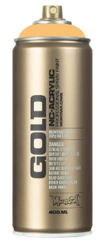 Picture of Montana  Gold Spray Paint 400ml Cream Orange - 2020