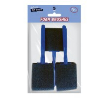 Picture of Mont Marte Foam Brushes Set of 5 50MM