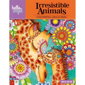 Picture of Irresistible Animals Colouring Collection