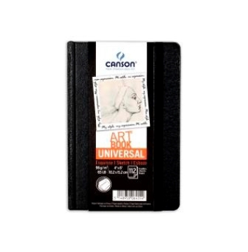 Picture of Canson Universal Art Book 96gsm A5 (112 Sheets)